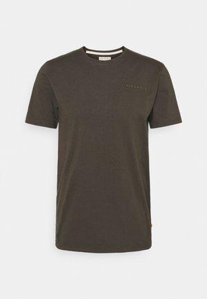 EMBRIODERED - T-shirt basic - beluga