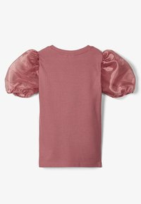 Name it - SLIM FIT PUFFÄRMEL - Blouse - withered rose - 1