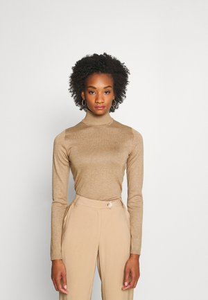 ANNEMARIE ROLL NECK - Jumper - tannin melange