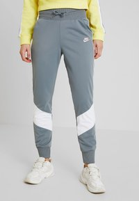 Nike Sportswear - PANT - Tracksuit bottoms - cool grey/white - 0