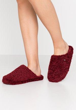 DONI PERS MULE - Pantofole - bordeaux red
