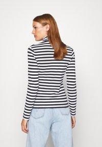 Calvin Klein Jeans - Long sleeved top - black/bright white - 2