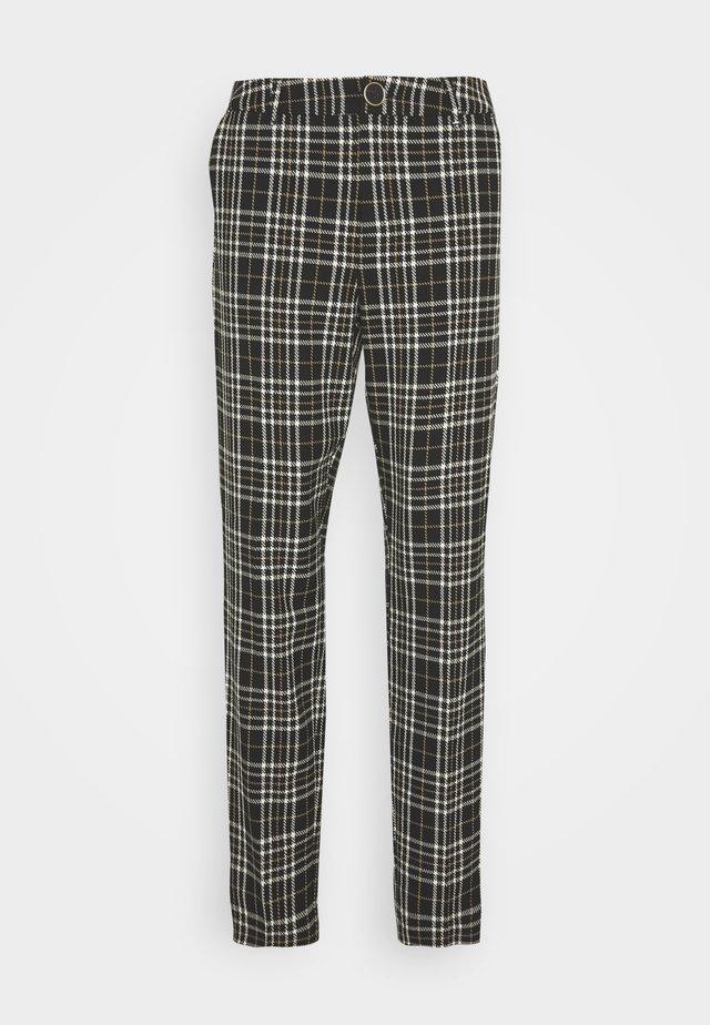 MYLIA CIGARETTE PANTS - Pantaloni - black