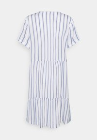Freequent - STRIPE - Day dress - chambray blue - 1
