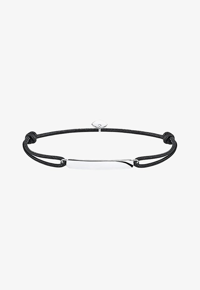 LITTLE SECRET CLASSIC - Armband - silver-coloured/black