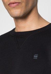 G-Star - PREMIUM CORE R SW L\S - Sweatshirts - black - 4