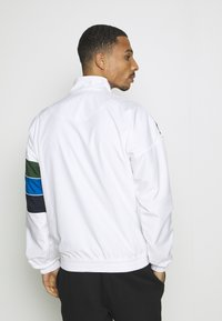 Lacoste Sport - BH1511 - Training jacket - white/navy blue/utramarine/green - 2