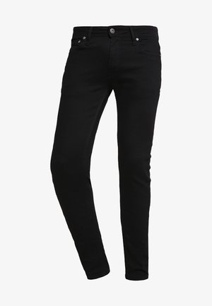 JJILIAM  - Jean slim - black denim