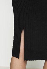 Selected Femme - SLFMARGE SKIRT - Pouzdrová sukně - black - 5