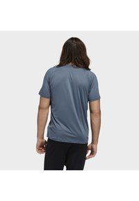 adidas Performance - FREELIFT 3-STRIPES T-SHIRT - Camiseta estampada - green - 1