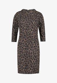 Betty Barclay - MIT 3/4 ARM - Jersey dress - black/taupe - 2