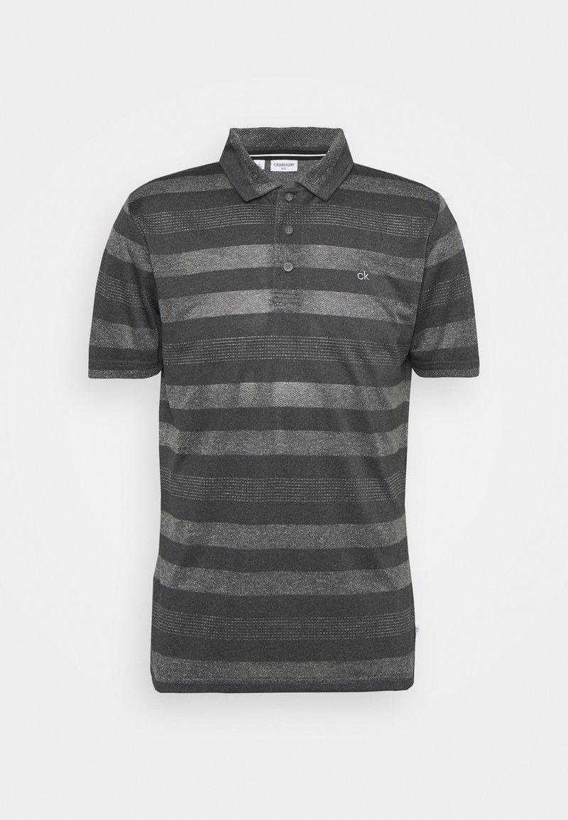 Calvin Klein Golf - SHADOW STRIPE - Sports shirt - charcoal mark