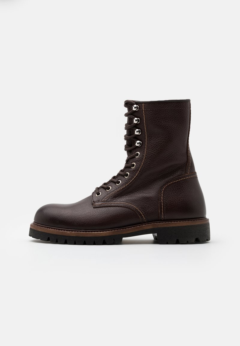 Belstaff - MARSHALL - Bottes à lacets - tobacco