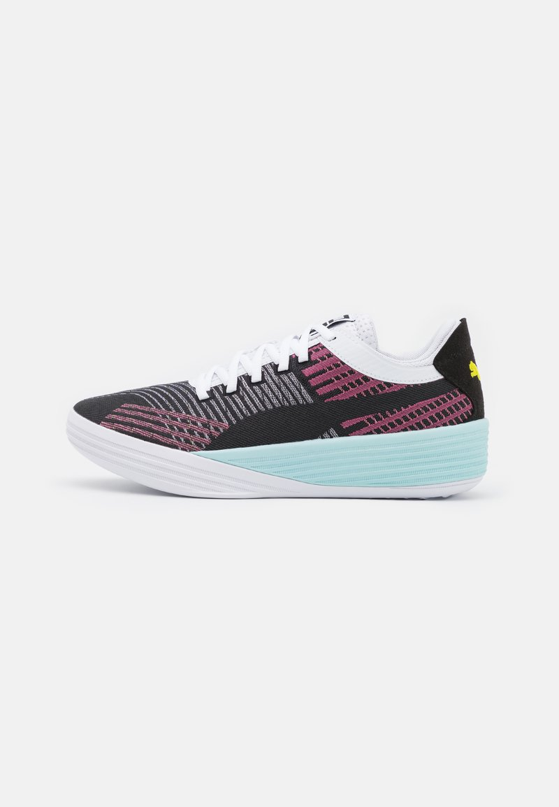 Puma - CLYDE ALL PRO - Basketball shoes - black/pink lady