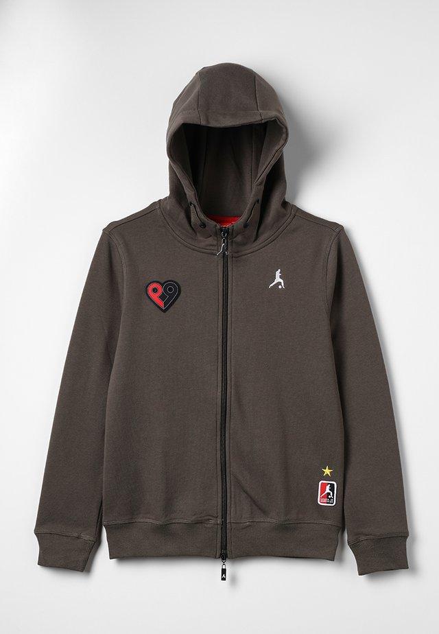 COYOTE - veste en sweat zippée - khaki