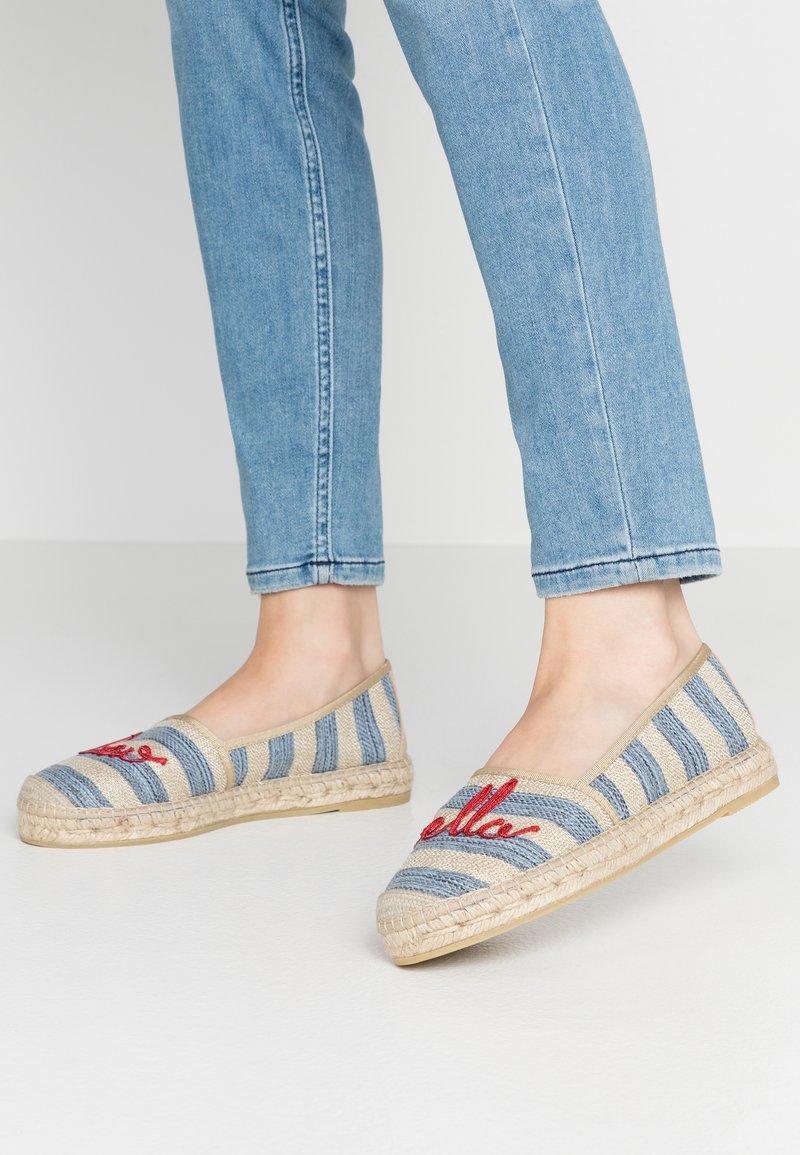 Vidorreta - Espadrilles - raya casona jeans