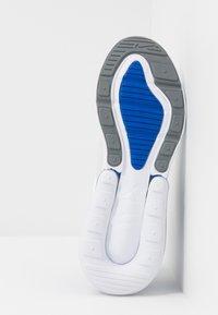 Nike Sportswear - AIR MAX 270 - Sneakers basse - white/hyper royal/pure platinum - 5
