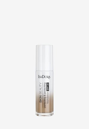 SKIN BEAUTY PERFECTING & PROTECTING FOUNDATION SPF 35 - Foundation - almond