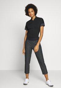 adidas Golf - T-shirt con stampa - black - 1