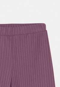 Lindex - MINI TROUSERS COSY  - Trousers - light dusty lilac - 2
