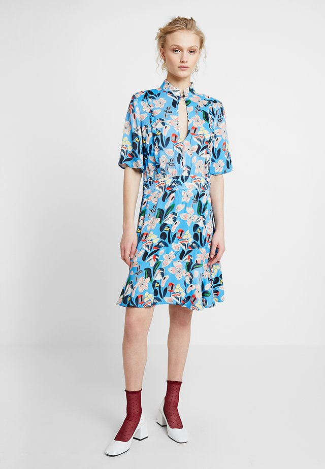 EVA - Shirt dress - azure blue
