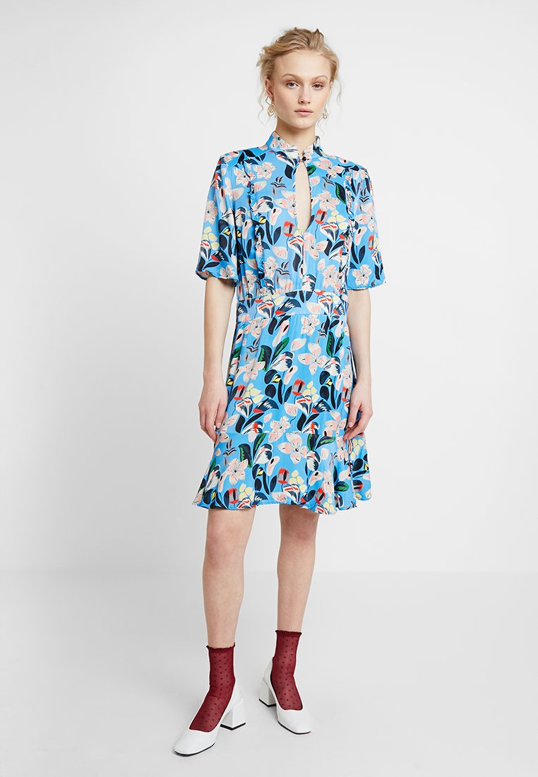Custommade - EVA - Shirt dress - azure blue