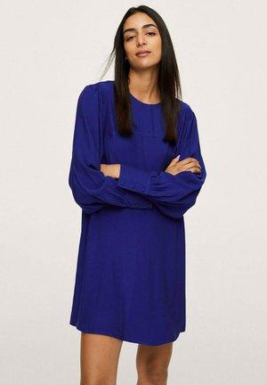 JURK MET POFMOUWEN - Sukienka letnia - blauw