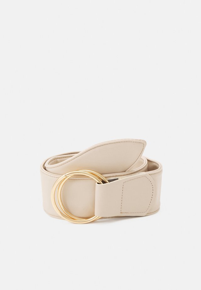 PCAKULA WAIST BELT - Pasek - birch/gold-coloured
