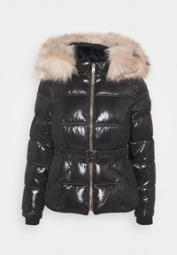 River Island Petite - HAMILTONQUILTED DOUBLE ZIP  - Winter jacket - black - 0
