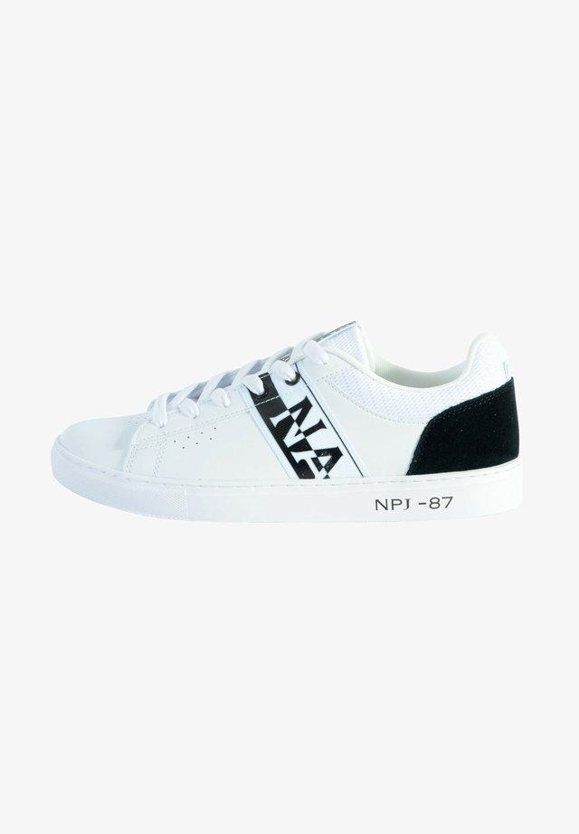 BASKET - Baskets basses - blanc/noir