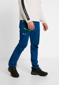 Salewa - PUEZ ORVAL - Outdoorové kalhoty - poseidon - 0