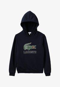 Lacoste - BOY LOGO HOODIE - Hættetrøjer - marine - 2