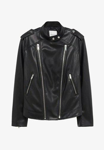 BARROW8 - Faux leather jacket - noir