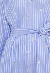 Liu Jo Jeans - ABITO CAMICIA STRIPES - Shirt dress - blue wave - 6