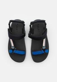 Marni - Sandales - black/zaffiro - 3