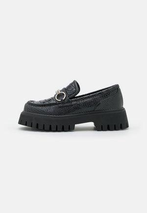 VEGAN BION - Scarpe senza lacci - black