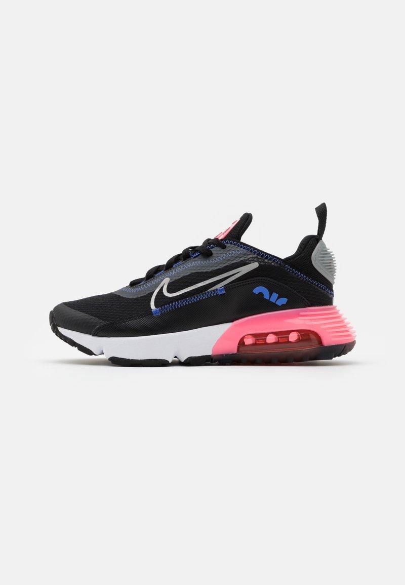 Nike Sportswear - AIR MAX 2090 - Sneakers basse - black/metallic silver/sunset pulse