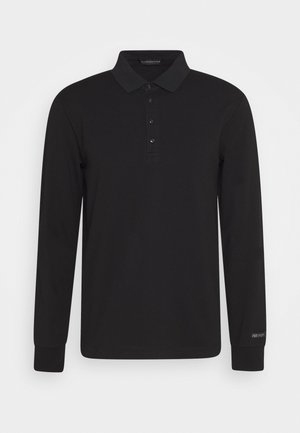 CHIC STRETCH LONGSLEEVE - Polo shirt - black