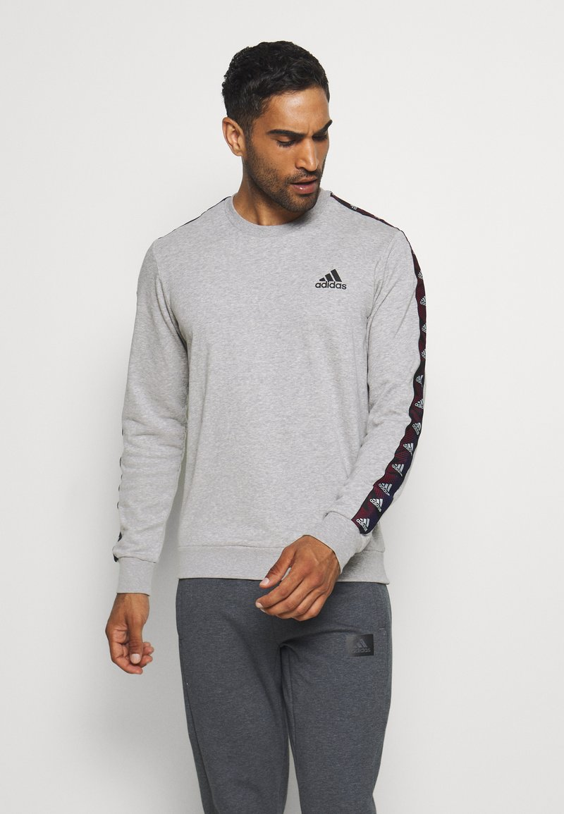 adidas Performance - Sweatshirt - grey/black