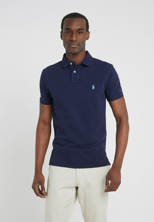 SLIM FIT - Polo - newport navy/blue
