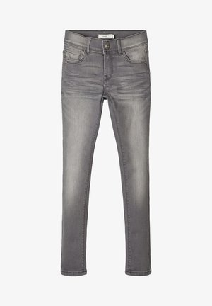 Skinny-Farkut - light grey denim