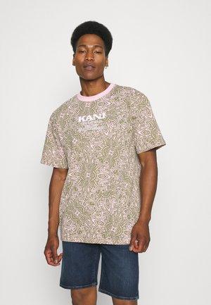 UNISEX RETRO PAISLEY TEE - Print T-shirt - rose