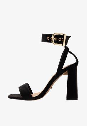 ROXY FLARE BLOCK - High heeled sandals - black