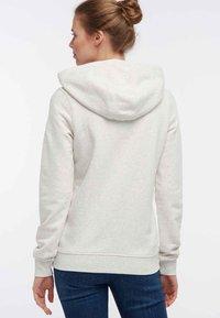 DreiMaster - Zip-up hoodie - white melange - 2