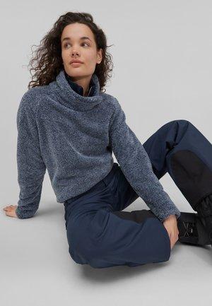 hazel - Fleece jumper - ink blue -a
