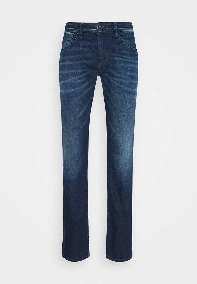 CASH - Slim fit jeans - dark blue denim