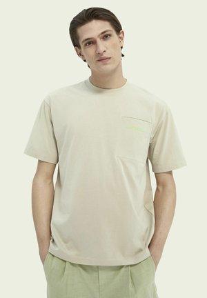 T-shirt - bas - stone
