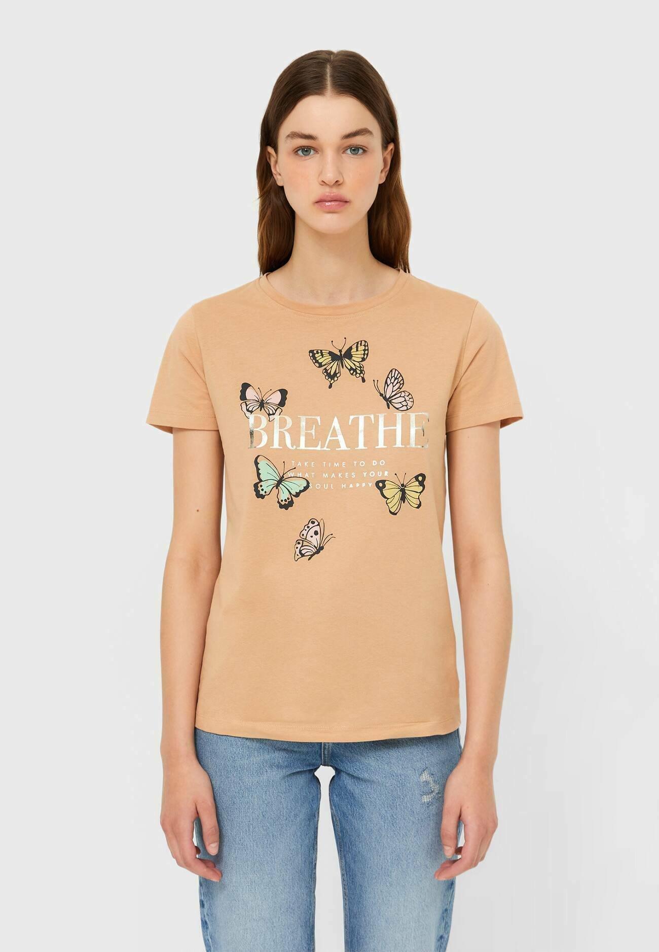 Damen KETTEN - T-Shirt print
