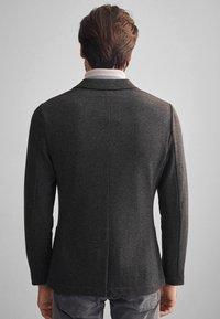 Falconeri - BLAZER AUS KASCHMIRJERSEY - Blazer jacket - grey - 2