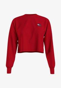 Tommy Jeans - Sweatshirt - red - 0